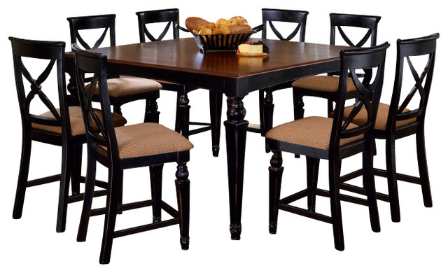 Hillsdale Northern Heights 9 Piece Counter Height Set