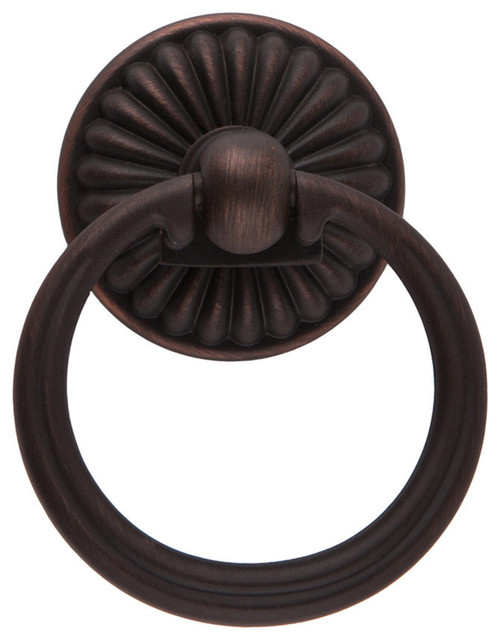 Sumner Street Home Hardware Belmont 2 Ring Pull Oil Rubbed Bronze