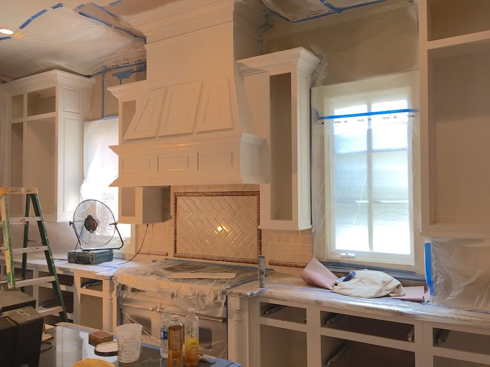 Cabinet Refinishing.Work in progress.