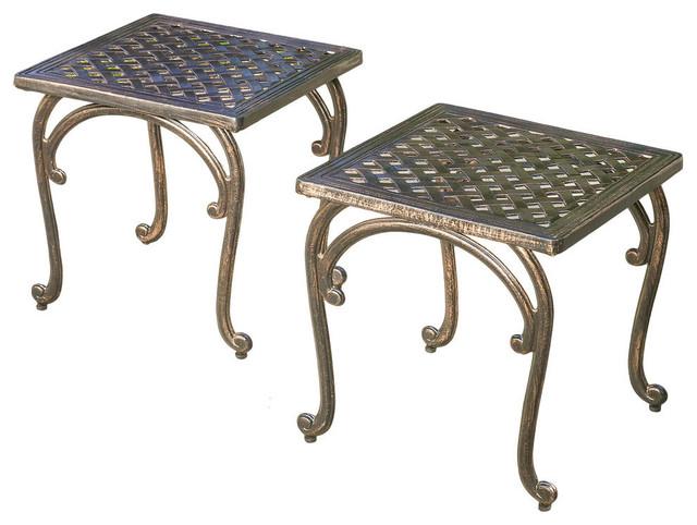 Cast Aluminium Accent Tables