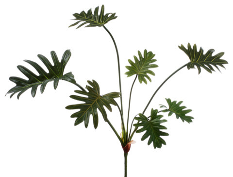 silk plants direct split leaf plant pack of 12 traditional