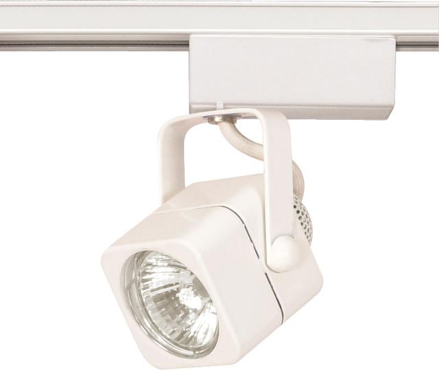 Nuvo Track Lighting 1 Light Halogen Fixture White