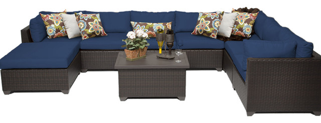 Noah Outdoor 4-Piece Rust-Proof Aluminum Chat Set With Water Resistant Cushions