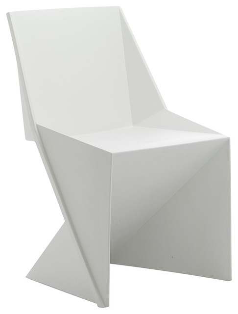 Freedom Visitor Stackable Indoor/Outdoor Chair, White