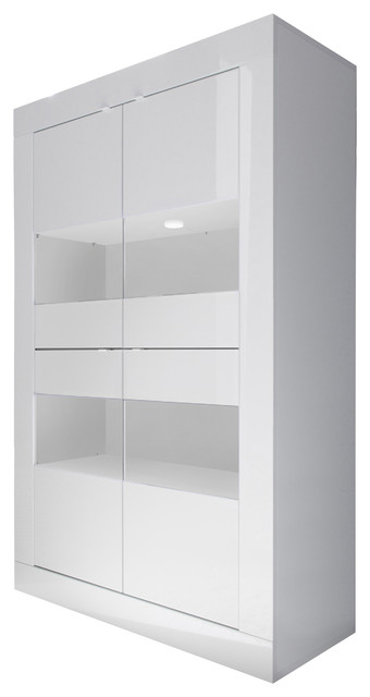 Dolcevita Wide Large Storage Cabinet Modern Display Cabinets Dressers By Sena Home Furniture