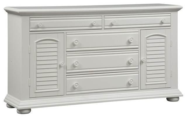 Liberty Furniture Summer House I 2 Door 5 Drawer Dresser