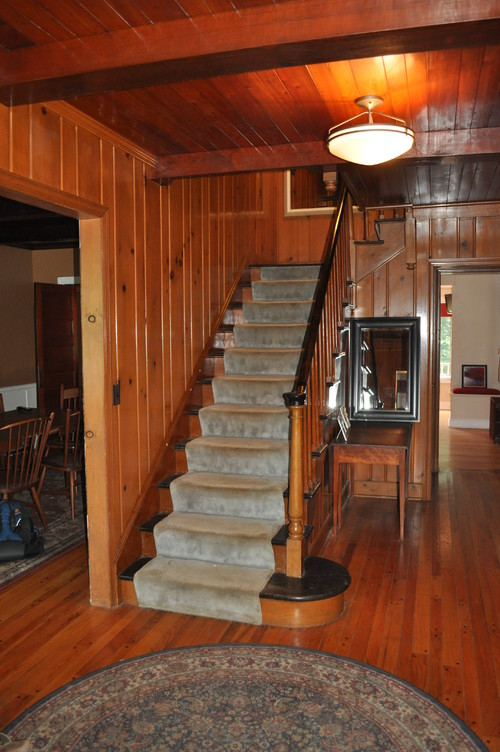 - Staging A Home With Real Wood Paneling