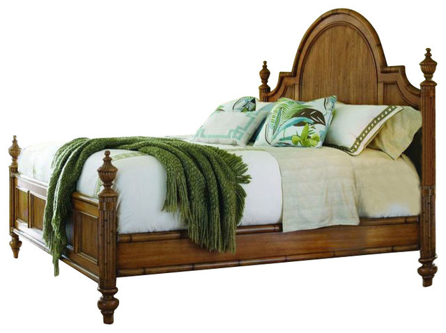 Tommy Bahama Home Beach House Belle Isle Bed Traditional Beds By Unlimited Furniture Group