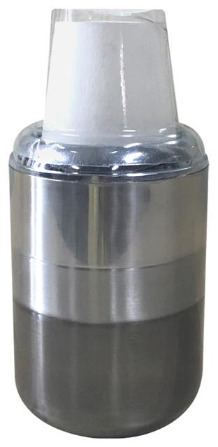 Triune Bathroom Cup Dispenser.