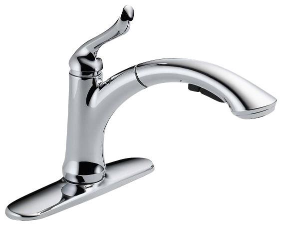 delta linden single hole faucet Home / bathroom faucets delta 597lf-mpu cassidy single hole bathroom faucet delta leland two handle centerset lavatory faucet $ 7901 delta linden 594 single.