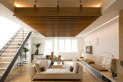 ξύλινη ψευδοροφή, ψευδοροφή από ξύλο, ταβάνι από ξύλο, ψευδοροφή στο σαλόνι