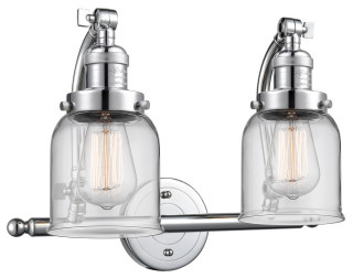 Innovations 515-2W-PC-G52-LED 2 Light Vintage Dimmable LED Bathroom Fixture Polished Chrome