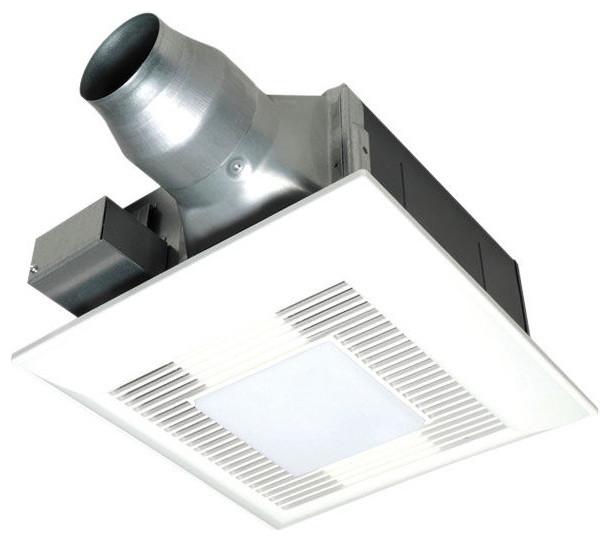 Panasonic Ceiling Mount Bathroom Exhaust Fan, FV-08-11VFL5 ...