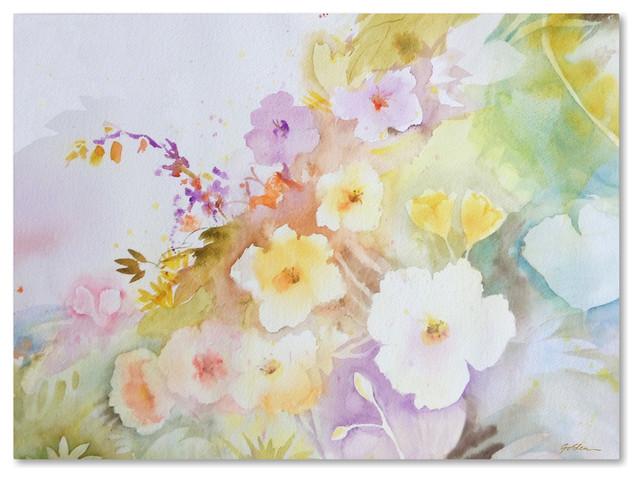 Sheila Golden &x27;garden Magic&x27; Canvas Art, 32x24.