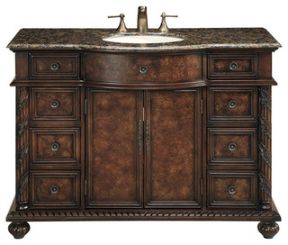 48 Quot Amelia Single Sink Vanity Victorian Bathroom