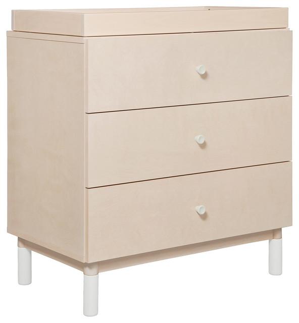 Babyletto Gelato 3 Drawer Changer Dresser, Washed Natural