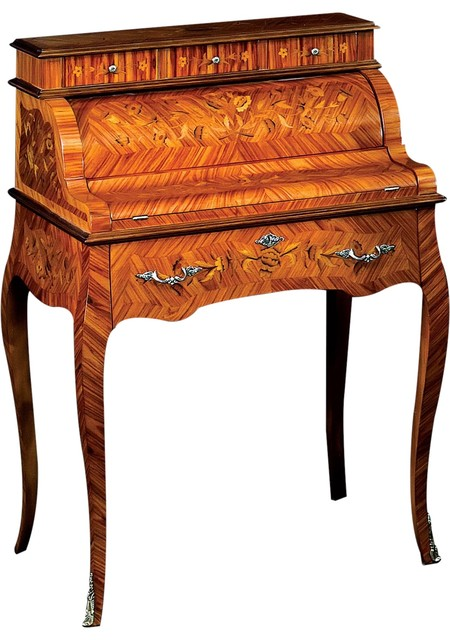 David Michael Desk David Michael Formal Furniture Roll Top View In Your Room Houzz
