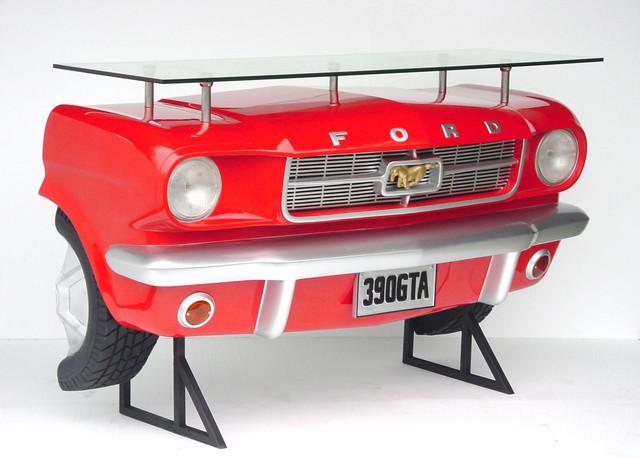 Ford Mustang Car Bar Shelf Home Decor