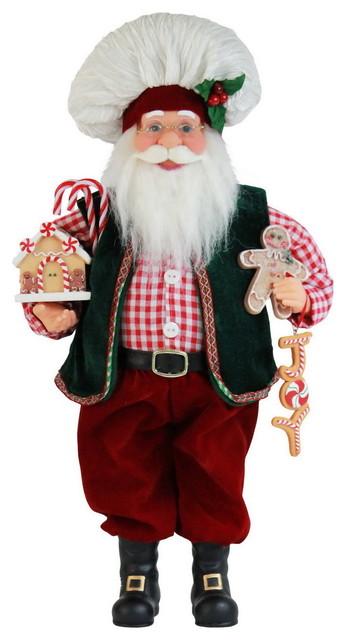 Gingerbread Santa.