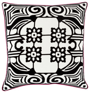 """Medallions & Damask Pillow Cover Only Square 18""""x18 ..."""