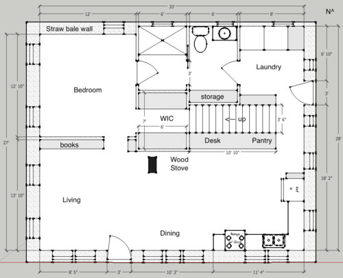 Small House St Floor Comments Please Elevation - Elevation where i am now