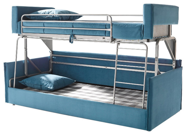 Suinta Coupe Bunk Bed Sofa, Blue