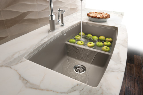 Divided sink or one large sink workwithnaturefo