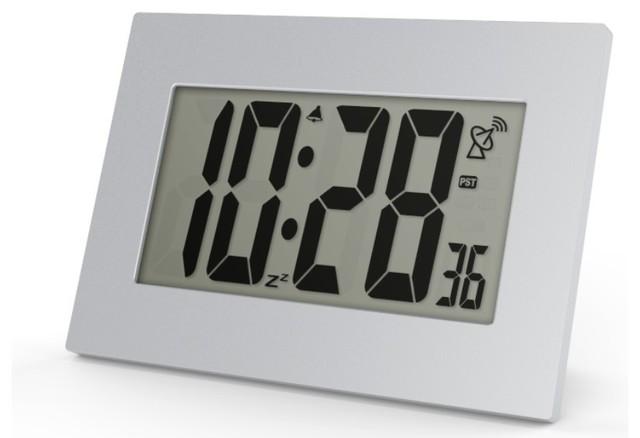 "Super Large Jumbo 3.5"" LCD Numbers Atomic Alarm"