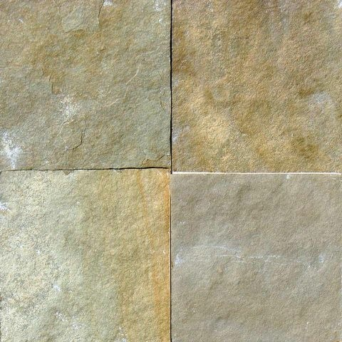 Gauged Madras Yellow Classic Slate Tile Traditional Wall And