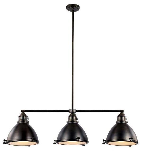 Kitchen Island Lights Houzz: Trans Globe Lighting Island Light In Polished