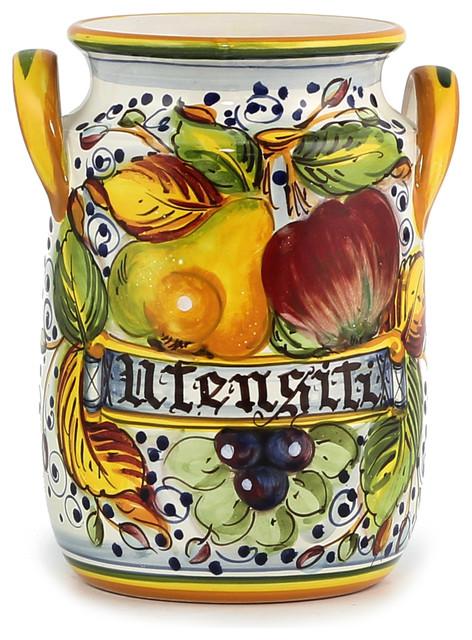 Frutta: Utensil/Breadstick Holder