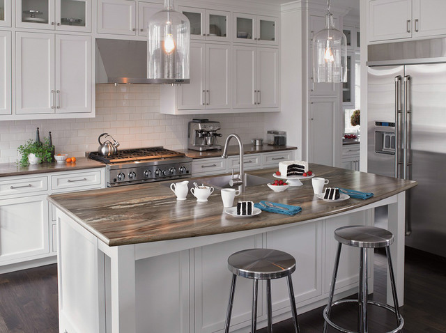Seifer Countertop Ideas Transitional New York By Seifer Kitchen Design Center