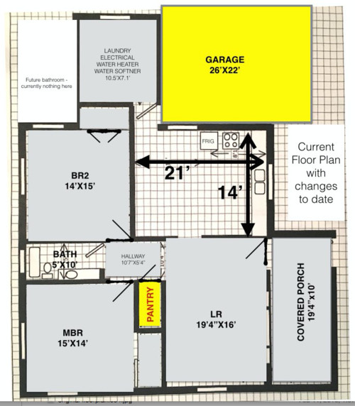 Need your input on revised floorpan
