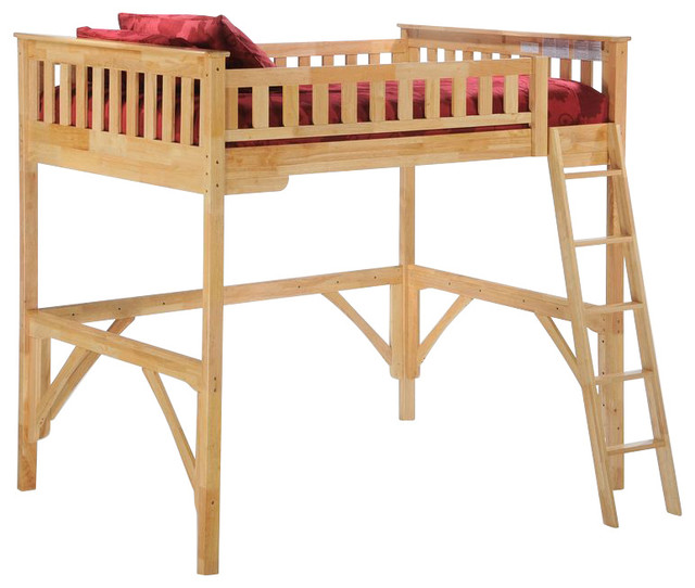 Night And Day Ginger Loft Bunk Bed No Desk