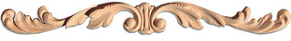 ... Small Wood Carving, White Oak, On103Sok/Oy103-8 - Onlays And Appliques