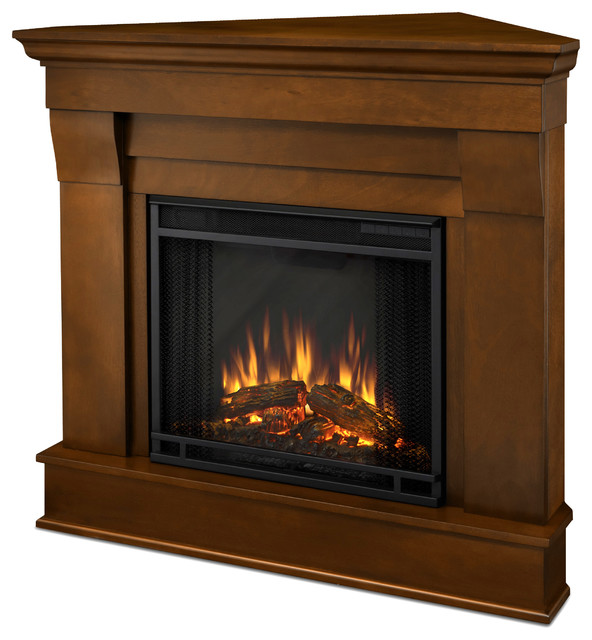 shop houzz real flame chateau corner electric white