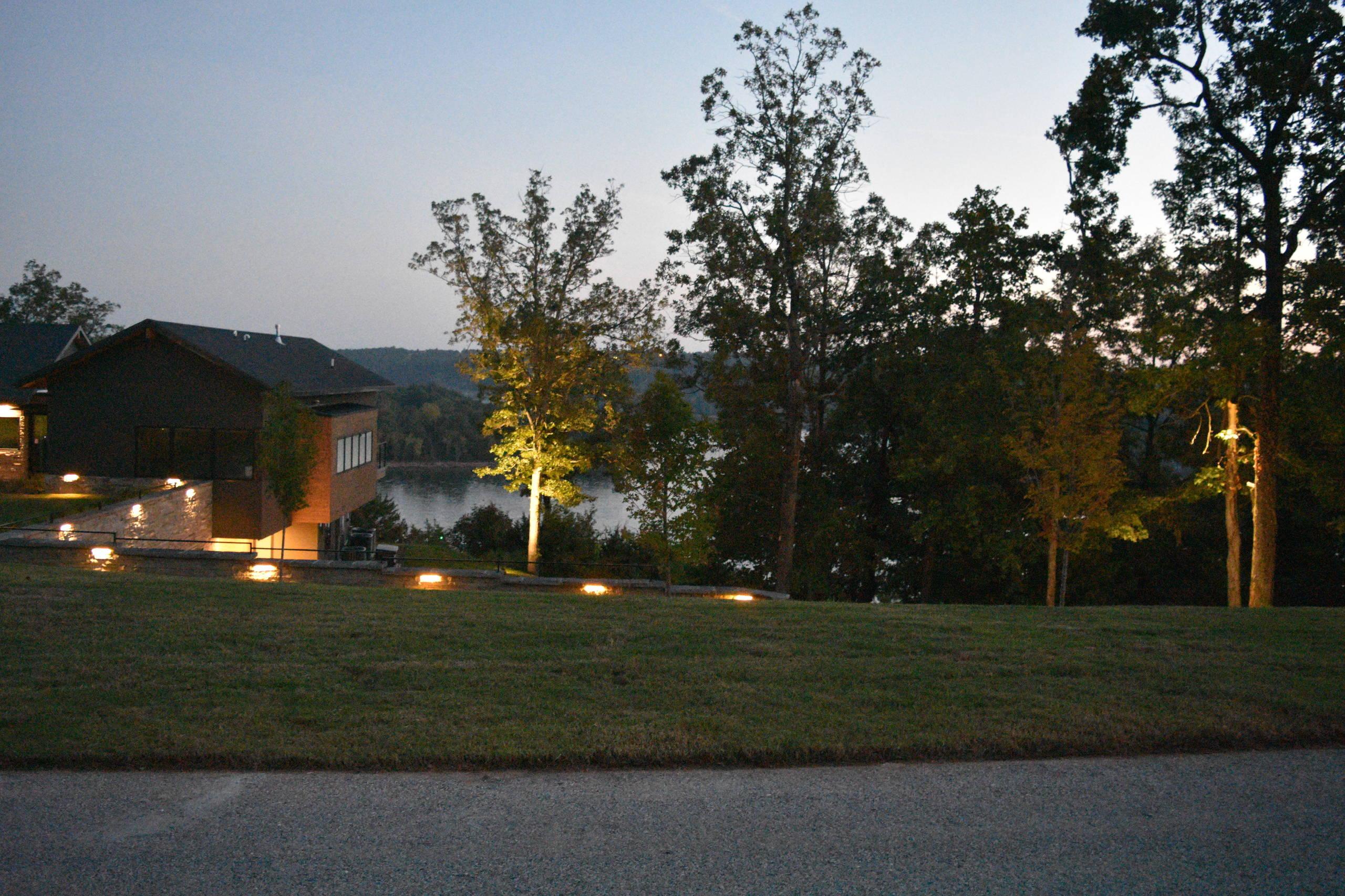 Beaver Lake House #3 Outdoor Lighting