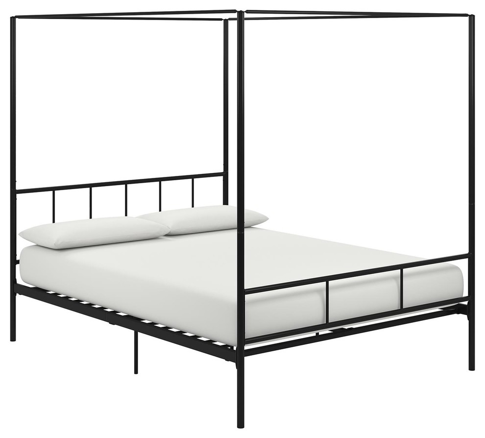 - Novogratz Marion Canopy Bed - Contemporary - Canopy Beds - By