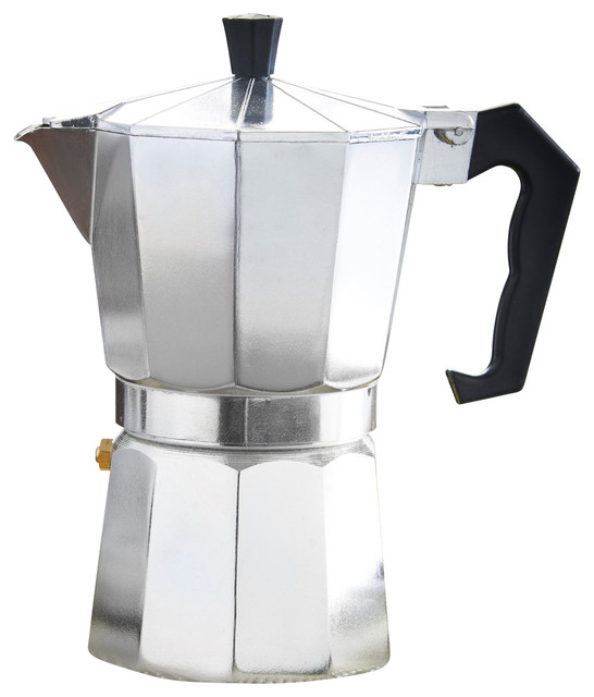 Stovetop Coffee Maker Home : 9 Cup Stovetop Espresso Maker, Aluminum Espresso Coffee Maker And Coffee Pot - Contemporary ...