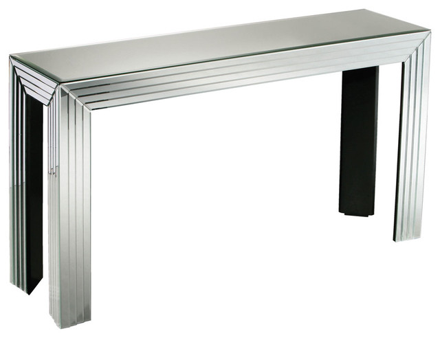 Premier housewares mirrored new line console table for New line in the table