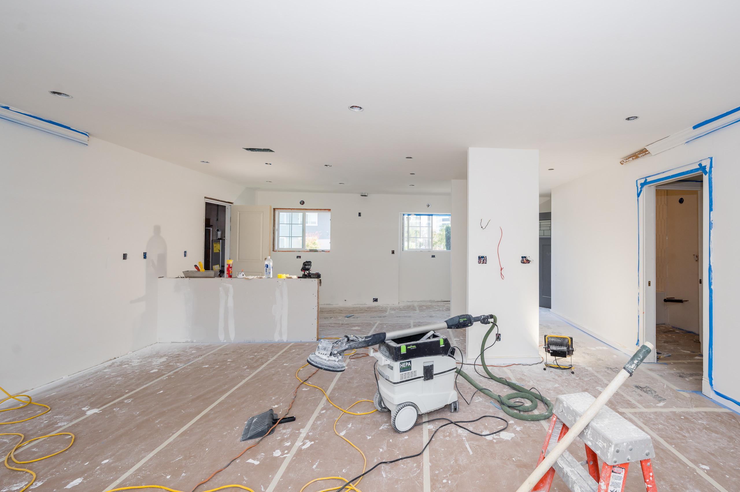 DURING CONSTRUCTION - Custom Home - San Mateo