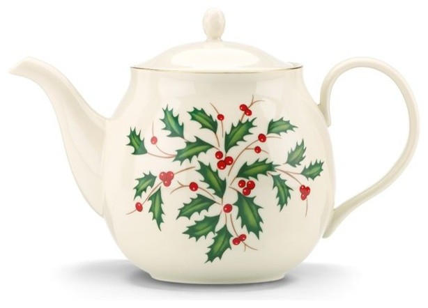 Lenox Holiday Teapot Teapots By Lenox