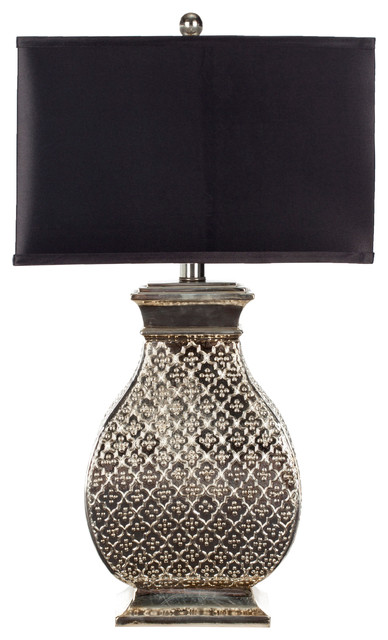 Malaga Silver Table Lamp.