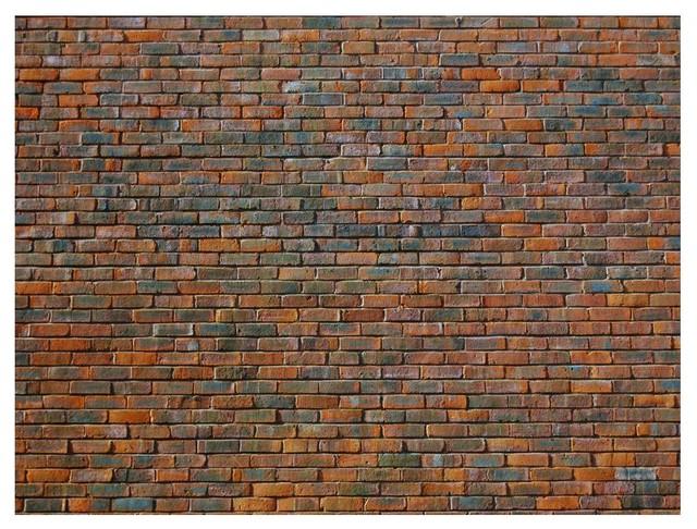 Brickwork Wallpaper Mural, 350x270 cm
