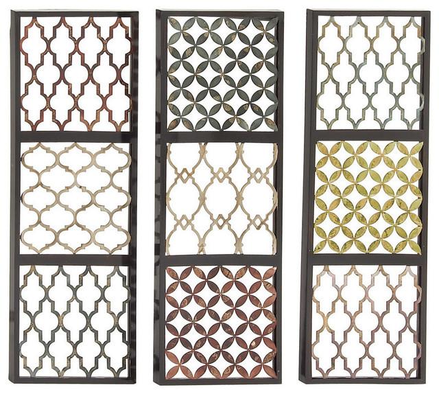 Priceless Metal Wall Decorative, 3-Piece Set