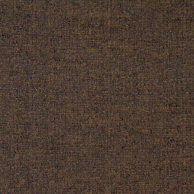 Brown Textured Solid Woven Jacquard Upholstery Drapery Fabric By The Yard