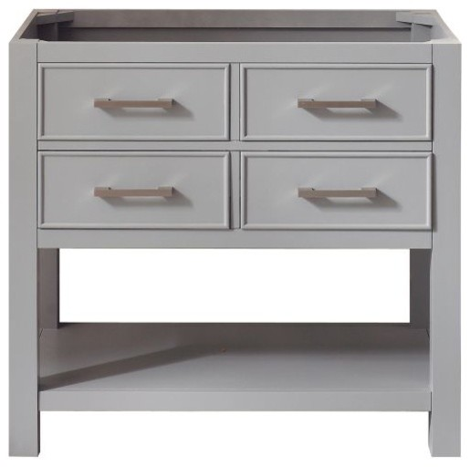 """Brooks 36"""" Vanity Only, Chilled Gray Finish."""