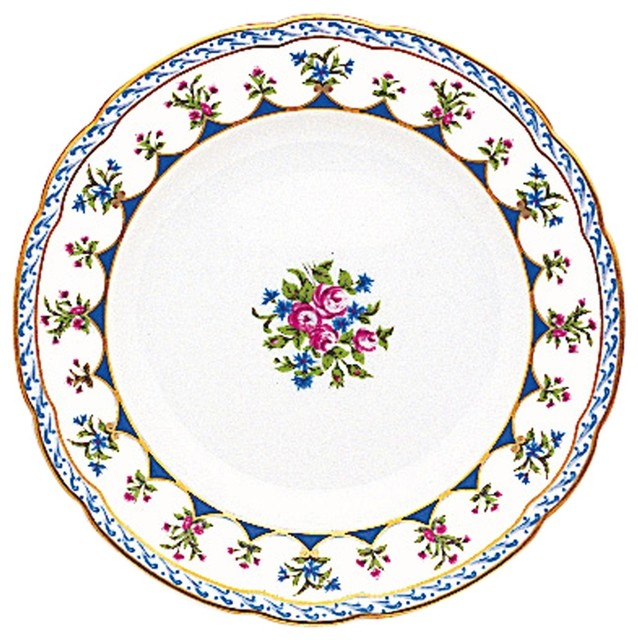 Bernardaud Chateaubriand Blue Bread and Butter Plate