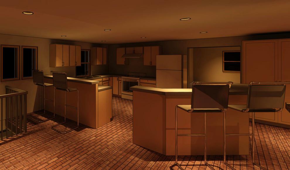 Interior_ 3D Revit Model