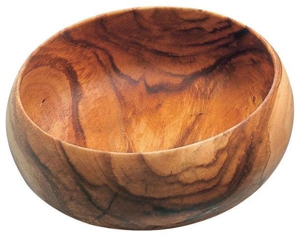 Pacific Merchants Acaciaware Acacia Wood Round Calabash